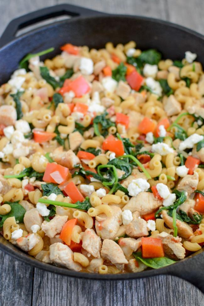skillet-mediterranean-chicken-pasta-1